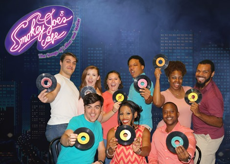 Smokey Joe's Cafe Publicity  cast
