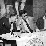 214-1993 június 21 - Bécsi Emberjogi Világkonferencia - FUEV magyar tagozatainak sajtótájékoztatója.jpg