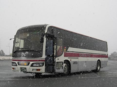 阪急バス「よさこい号」昼行便 05-2888 吉野川SAにて