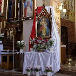 Poświęcenie obrazu Jezusa Miłosiernego 3.04.2016r.