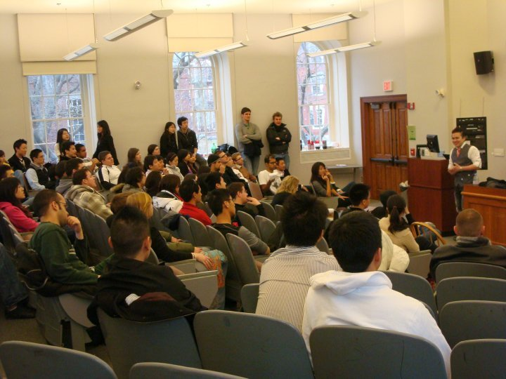 Jt Tran Pua Speaking At Harvard University, Asian Playboy