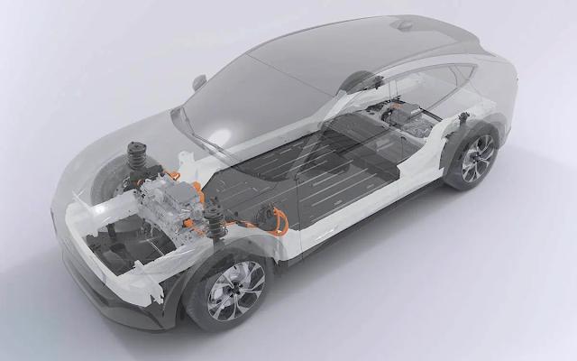 bateria estructural ford mustang mach e