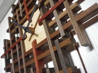 ランダムチェッククロック tartan clock