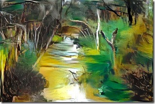 Dandenong Creek styled on Whiteley