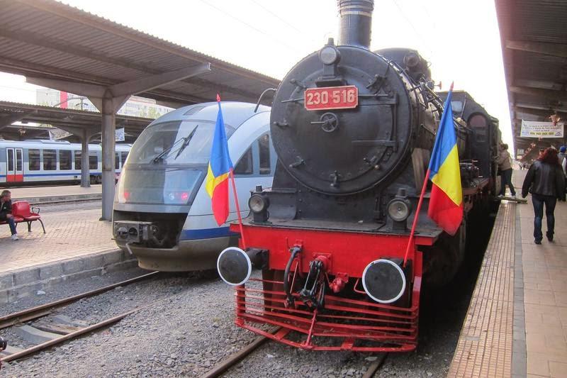 Trenul regal a revenit în Gara de Nord