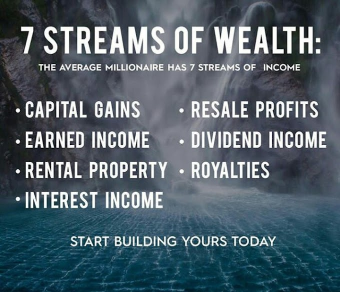 How Many Streams Of Income Do You Have?