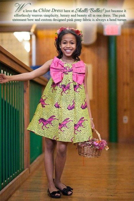 Lovely Pictures of Ankara designs for a child (4)