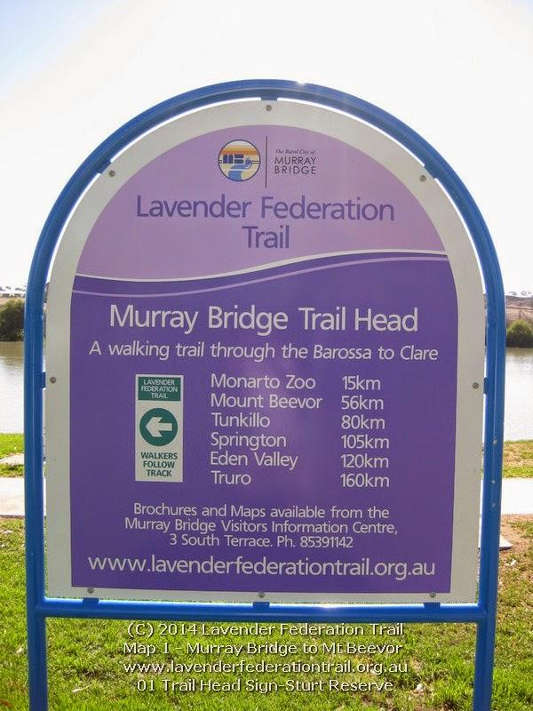 01 Trail Head Sign-Sturt Reserve
