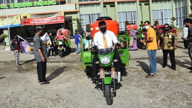 Pemko Padang Terima Bantuan dari KLHK RI Kerjasama Dengan Komisi IV DPR RI.