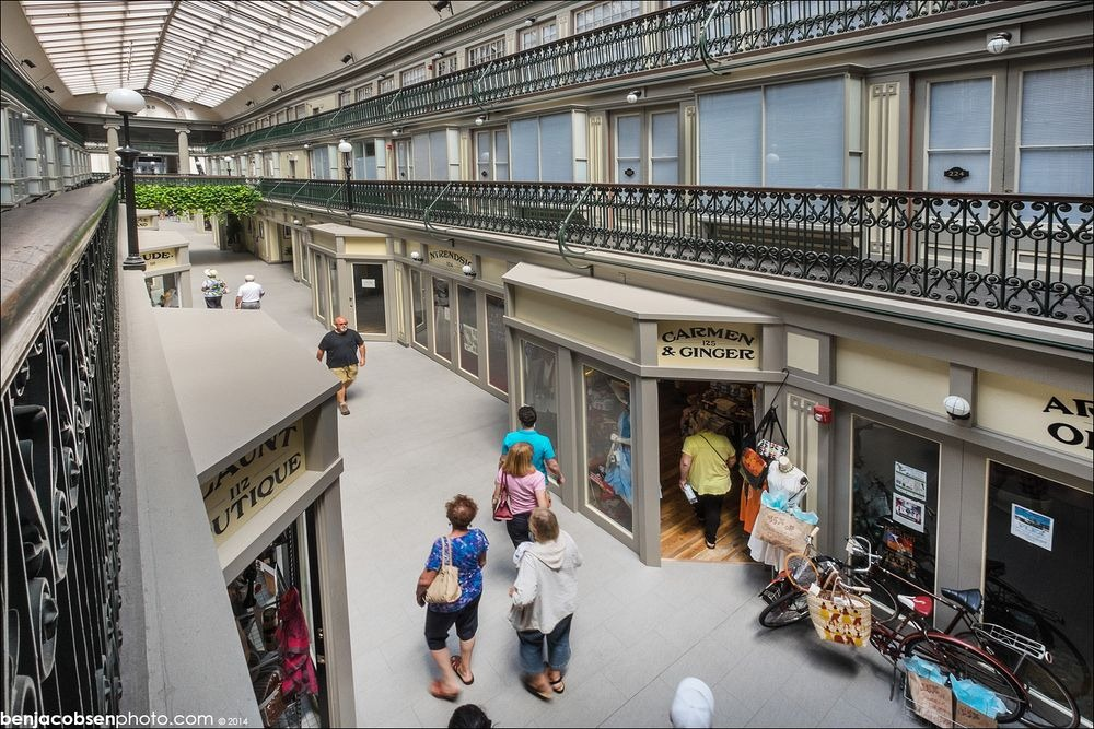 America S Oldest Mall Converted Into Micro Apartments