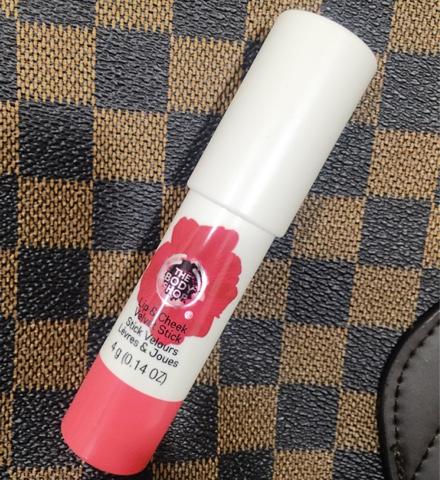 The Body Shop Lip & Cheek Velvet Stick 35 Coral