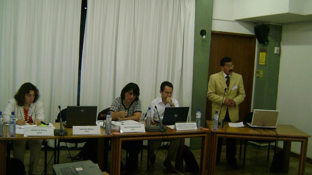Equipo de la Comisión Andina de Juristas