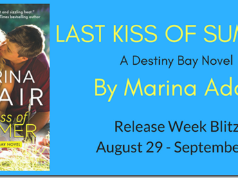 Spotlight: Last Kiss of Summer (Destiny Bay #1) by Marina Adair + Teaser, Excerpt, and GIVEAWAY