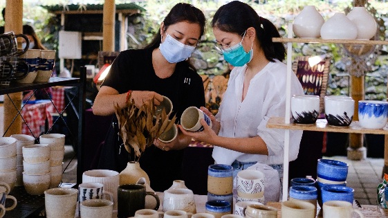 Ubud Artisan Market Menciptakan Kesempatan Baru UMKM untuk Berkembang