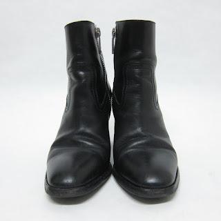 Saint Laurent Leather Booties