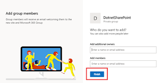 How to create a modern team site collection in SharePoint online