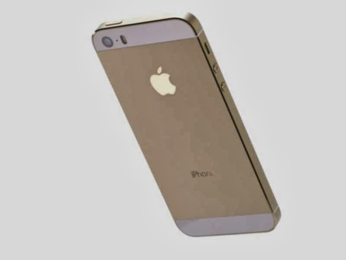 Golden iPhone 5S