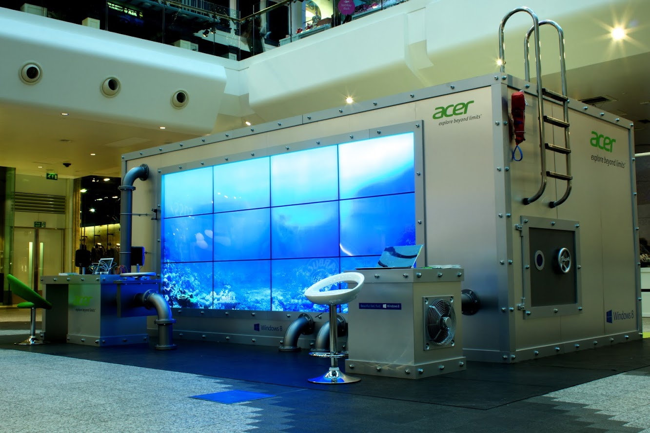 Acer | Exploring Beyond Limits Coming To A Mall Near You
