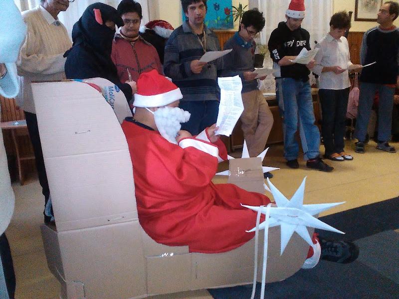 Karácsonyi ünnepély a bercel Harmónia intézet I. gondozási egységénél.