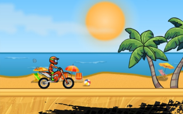 Moto X3M Bike Race Game Game