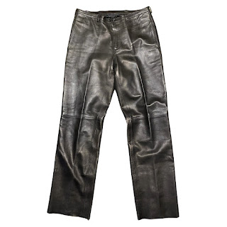 Prada Leather Slacks