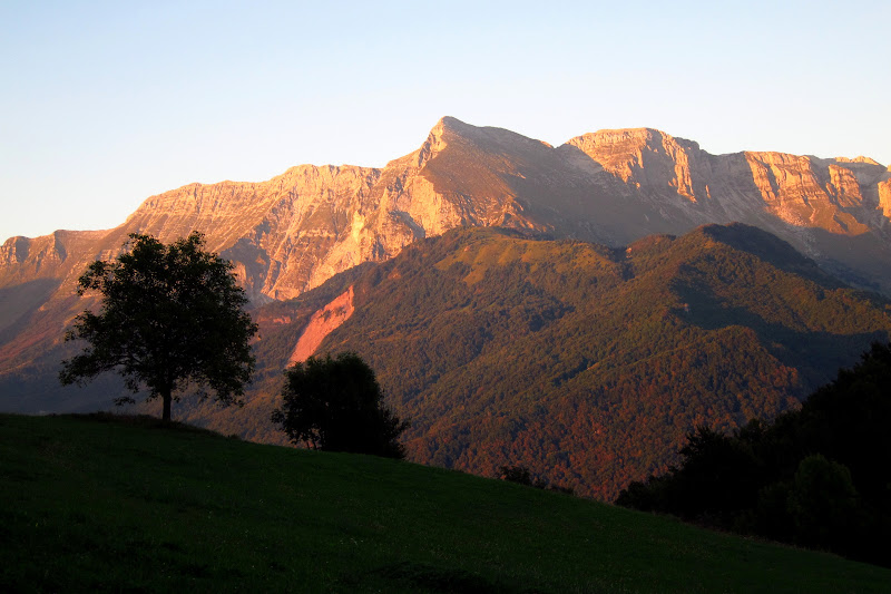 Mt. Krn at sunset