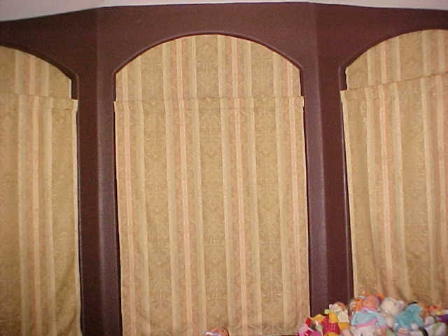 Rosy Creations Diy Window Covers For Odd Shaped Windows