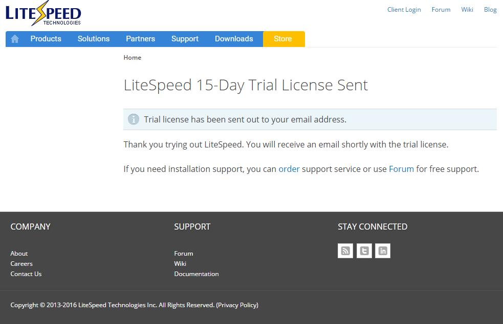 [L2MP - Giới thiệu] Hướng dẫn cài đặt Web Server: LiteSpeed trên Red Hat CentOS 6
