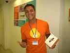 Ganhador do Celular GM 210 - Thiago Costa da Silva ( Vendedor )