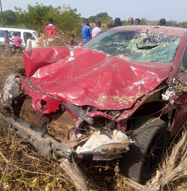 Fedpoffa Rector Visits Accident Scene, 2 Students Involved Responding To Treatment