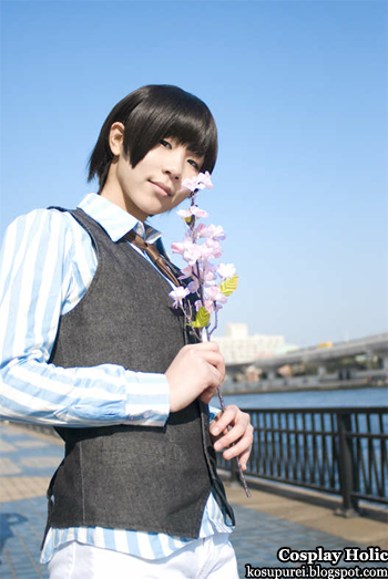 hetalia: axis powers cosplay - japan by amaha