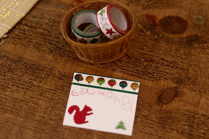 Washi tape festive, Christmas washi tape