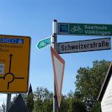 Begehung Hostenbach und Grundschule Wadgassen