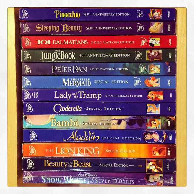 All Disney Princess Movies On Dvd