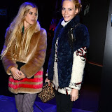 WWW.ENTSIMAGES.COM -   Poppy Delevingne and Laura Bailey    at         MINI - launch party at The Old Sorting Office, 21-31 New Oxford Street, London November 18th 2013                           Photo Mobis Photos/OIC 0203 174 1069