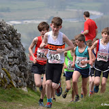 Hawkswick U12 race