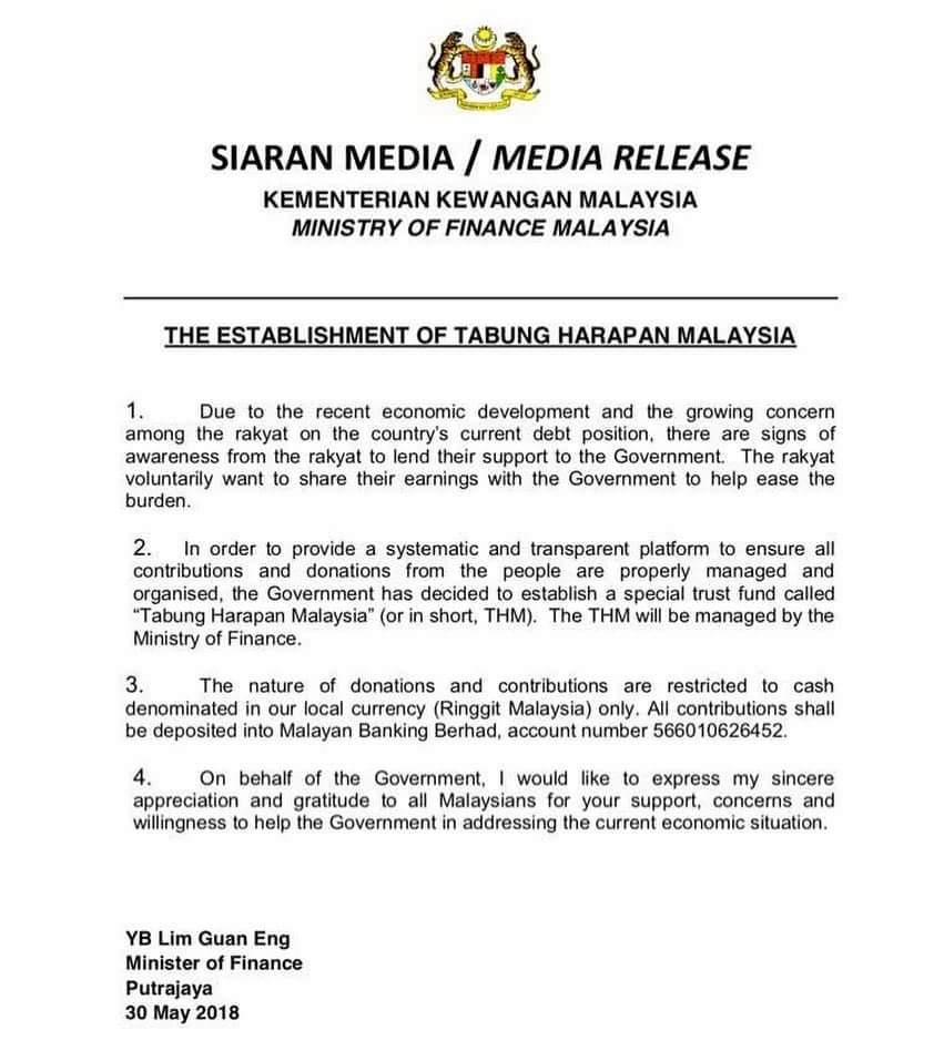 Terkini Kutipan Derma Tabung Harapan Malaysia Melebihi Rm7 Juta Kamek Miak Sarawak Sarawak S Latest News