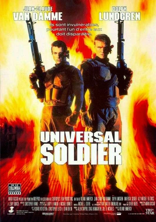Poster Of Universal Soldier (1992) Full Movie Hindi Dubbed Free Download Watch Online At Alldownloads4u.Com