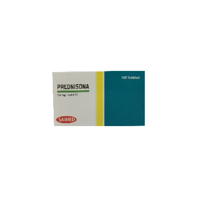 Prednisone Saimed 5mg x 10 Tabletas