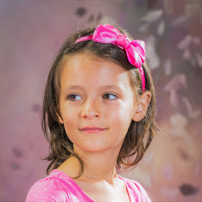Magdalena by Valentin Georgiev - Babies & Children Child Portraits ( pink, bulgaria, beatiful, smile )