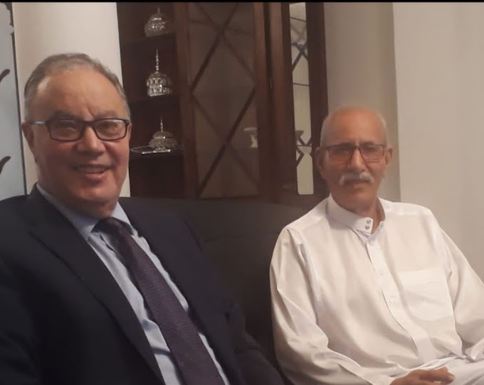Presidente saharaui recibe una delegación de alto nivel de Argelia.