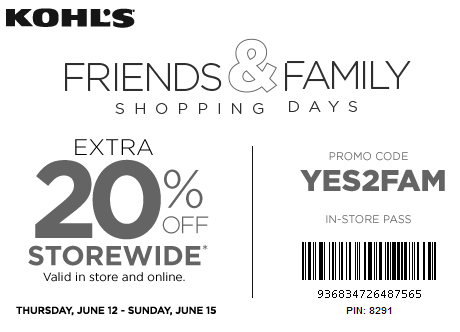 Kohls Coupon 20% Off Storewide June 2014