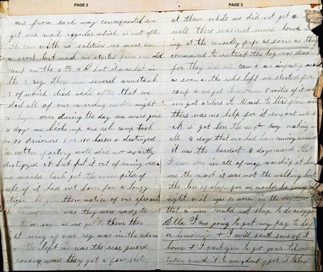 Copy of GILLEN_John_Private_Civil War Pension file 33_WITH PAGE NOS