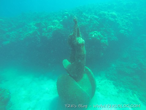 Grenada Underwater Sculpture Park - Moliniere Point