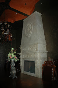 Fireplace, Interior, Overmantels, Surrounds