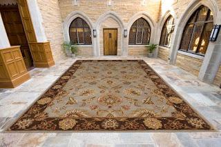 design tradițional palat covor