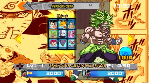 SAIUU!! NOVO TAP BATTLE MOD DRAGON BALL VS NARUTO PARA ANDROID (DOWNLOAD) 2019