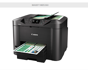 Canon MAXIFY  MB5360 driver download  Mac OS X Linux Windows