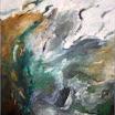Landschaftliches, 1996. �l auf Leinwand, 151 x 111 cm. Euro  6.500,-