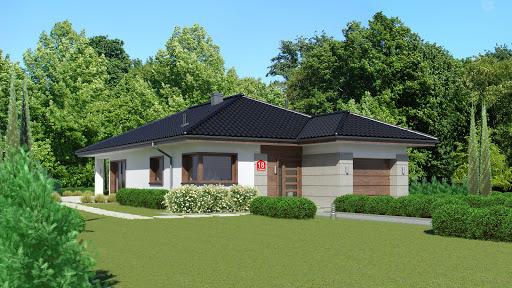 projekt Dom przy Pastelowej 18